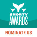 Nominate 20/20 Productions DC for a social media award in the Shorty Awards!
