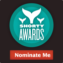 Nominate sushipro for a social media award in the Shorty Awards!