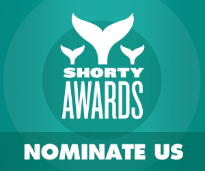 Nominate Robert Pattinson for a social media award in the Shorty Awards!