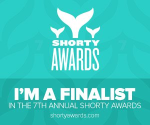 Nominate olv for a social media award in the Shorty Awards!